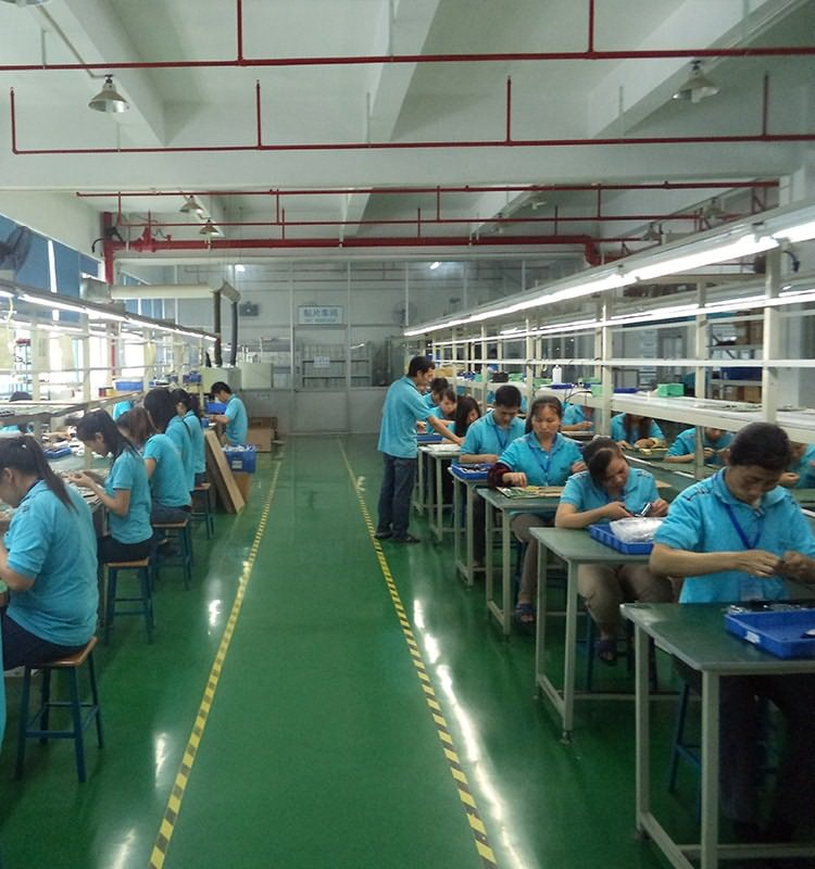 RF wireless remote control factory YET production line