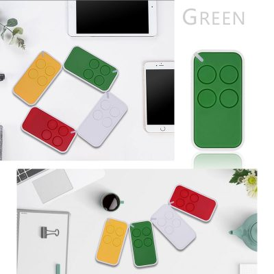 4-button mini plastic wireless colorful remote control YET2112-4.