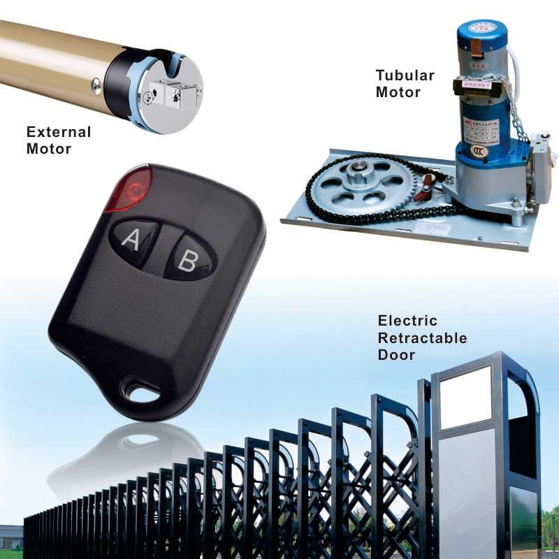 Wholsale telescopic door wireless remote controller can control sliding door.