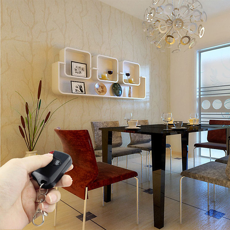 Wholsale telescopic door wireless remote controller can control light strips.