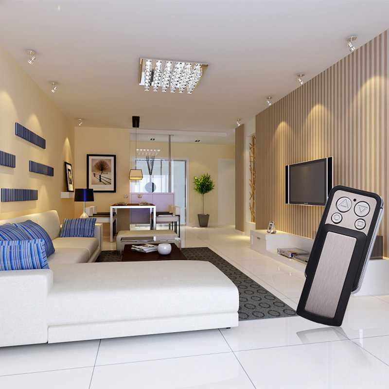 Electric garage door universal remote control application.