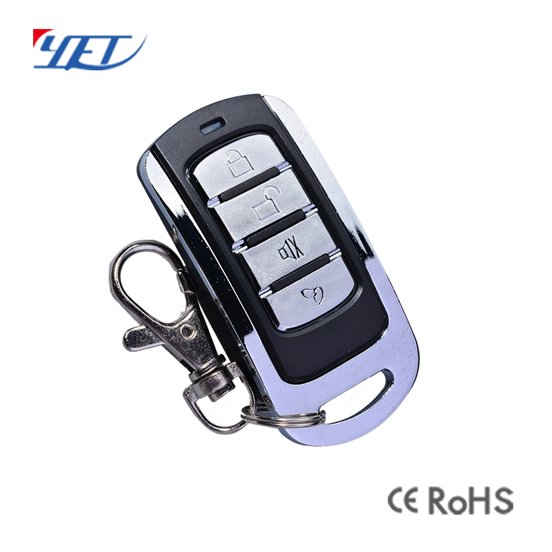 Smart Learning Code Metal ABS Garage Door Remote Control.
