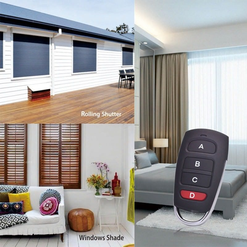 universal garage door opener remote application.