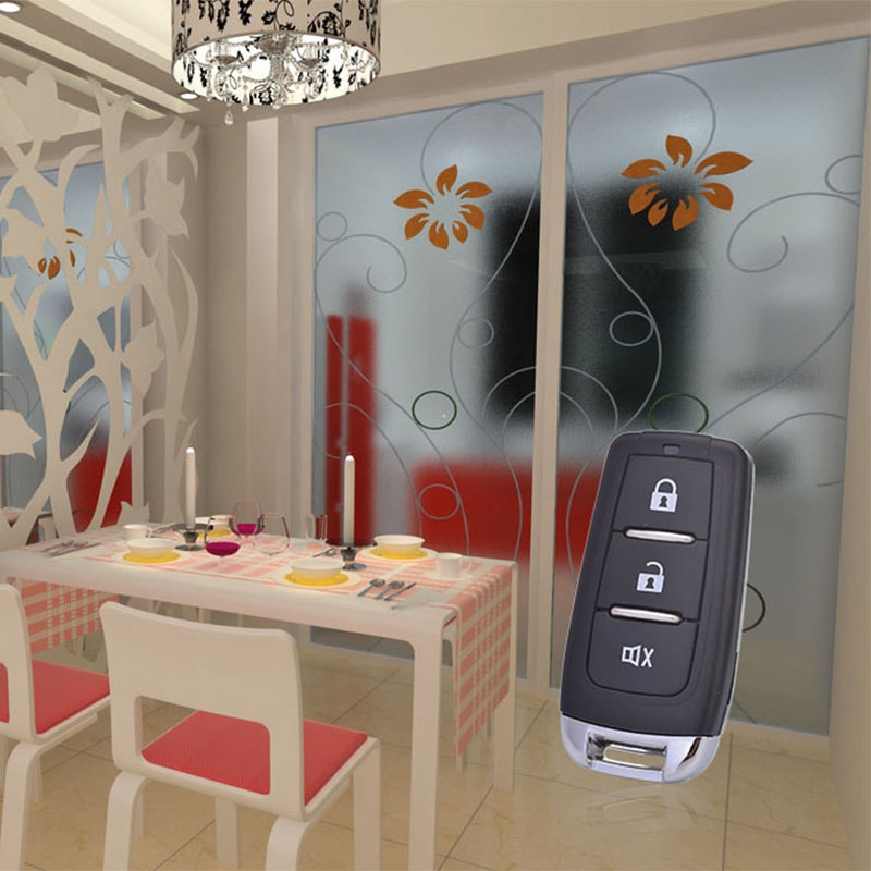 Multi channel 433Mhz copy learning garage wireless RF remote control LED light.
