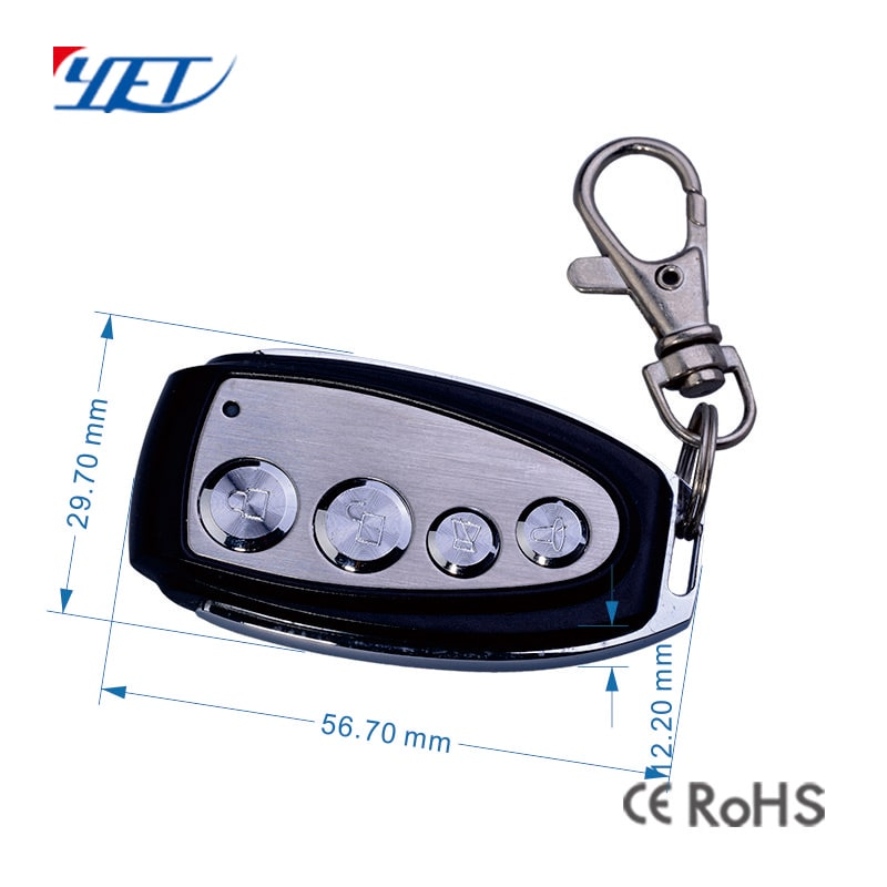 Remote control for automatic gate openers universal size.