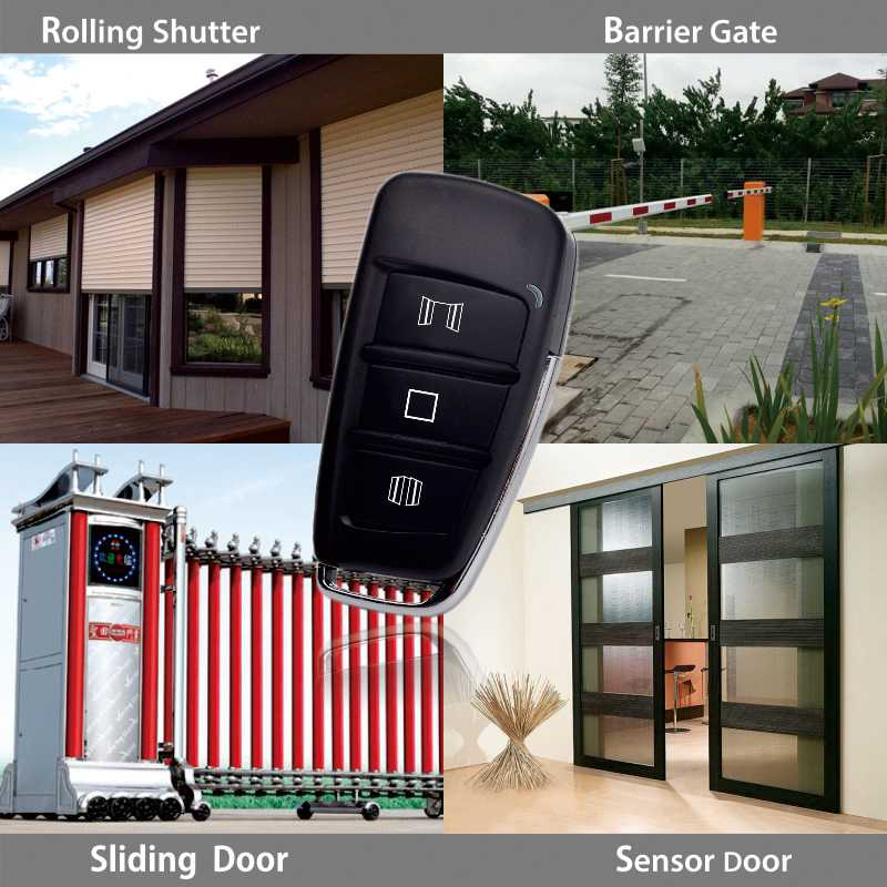 Shutter door remote controller application.