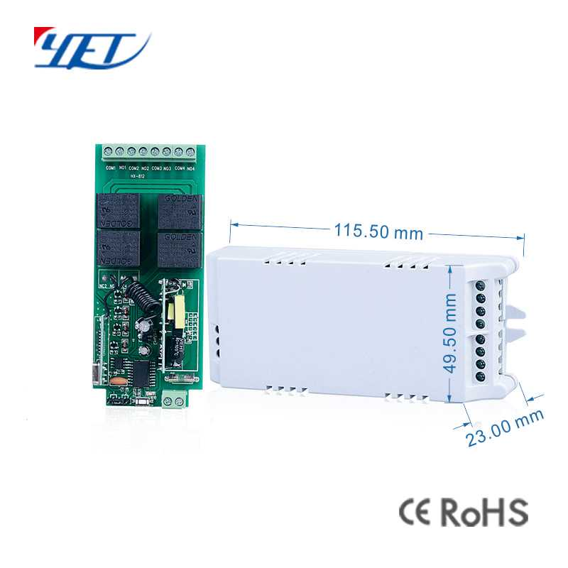 Motor controller YET404PC-220V size.