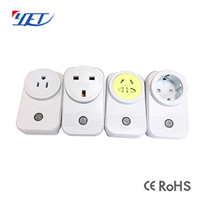 Home Smart WiFi Plug APP Control US UK EU PRC Socket YET6002WF