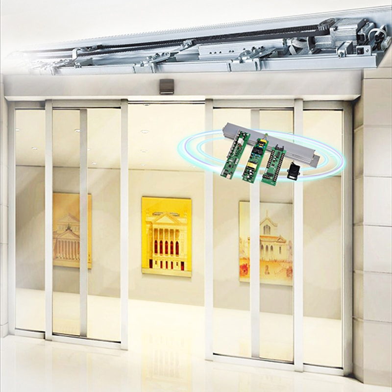 Automatic sliding door controller universal controller application.
