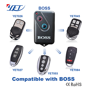 Compatible remote control Boss for smart home
