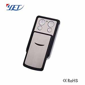 Four buttons metal mini wireless rf remote control YET-F51D