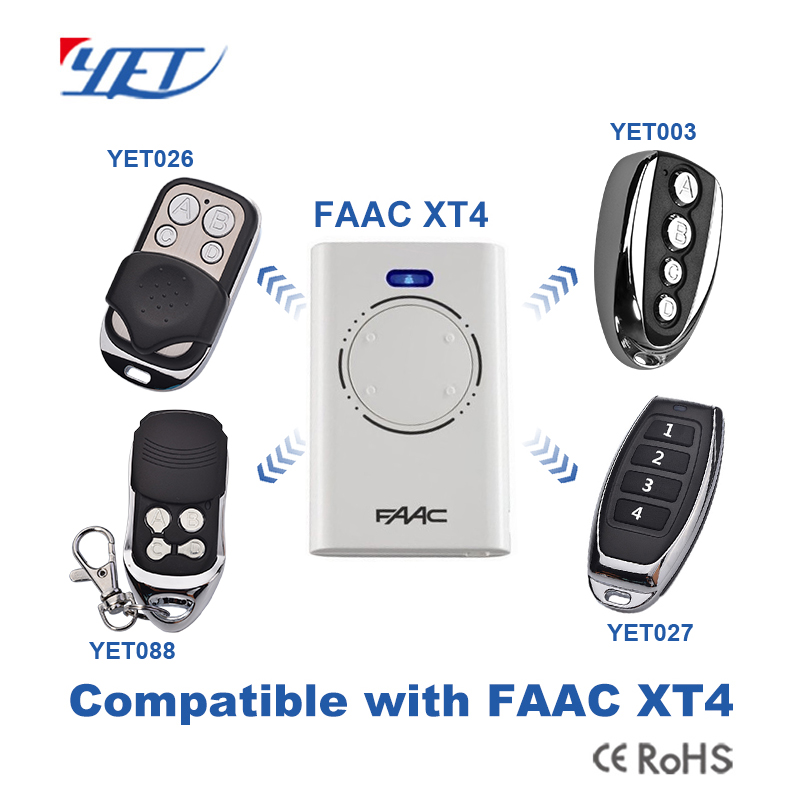 Here has 4 colors of compatible remote controls