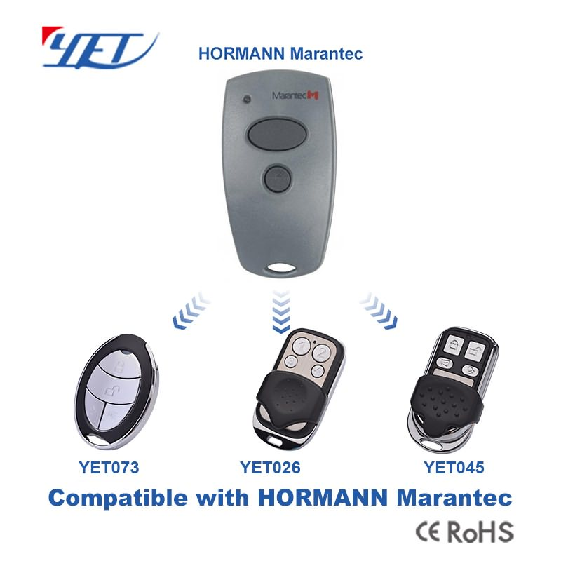 3 remote control switches compatible with HORMANN MARANTEC