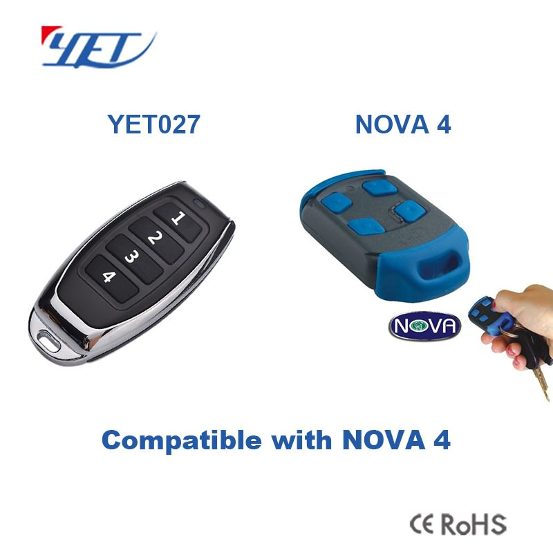 compatible remote control YET027 can match NOVA4