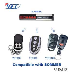 YET wireless RF remote control compatible SOMMER remote control