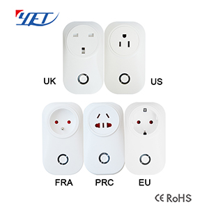 Universal WIFI smart plug YET6004-WIFI mobile phone one button to get