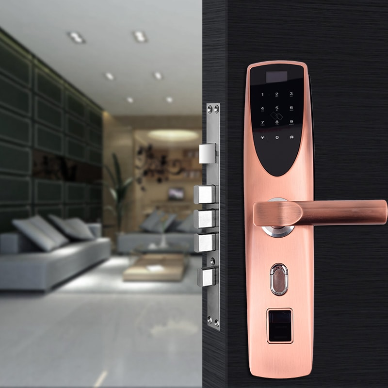 smart fingerprint door lock application.
