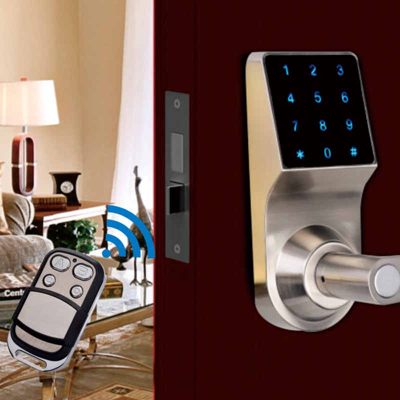 fingerprint smart door lock application.