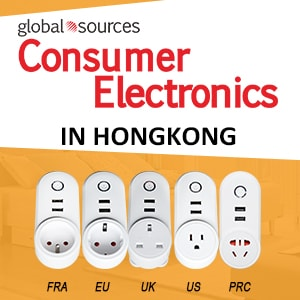 We will participate in Global Sources Electronics