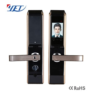 Face ID door lock and fingerprint intelligent door lock.