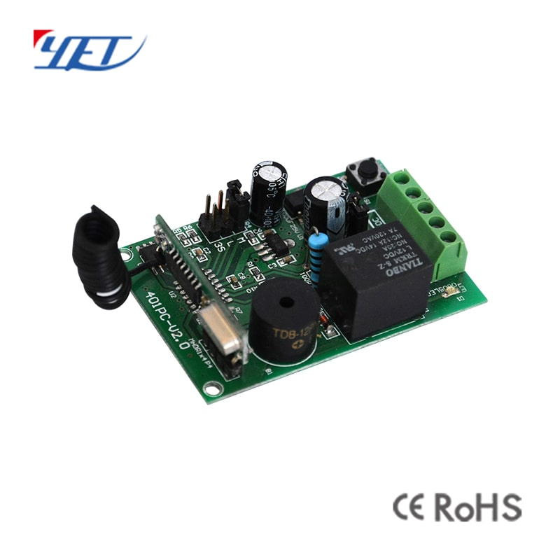 One-circuit universal wireless receiver pcb board.