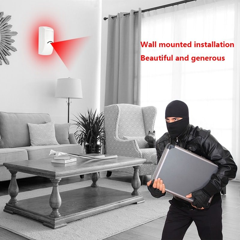infrared intrusion detectors application.