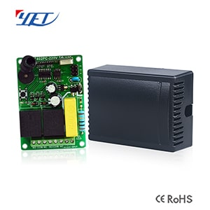 Two-channel Wireless Intelligent Receiver Controller YET402PC-220V.TG.V10