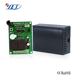High Confidentiality Two-channel Wireless Intelligent Receiving Controller YET402PC-TG.V10