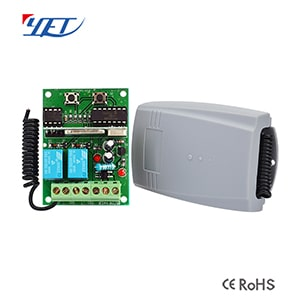 YET receiver YET402PC-V3.0 Remote controller