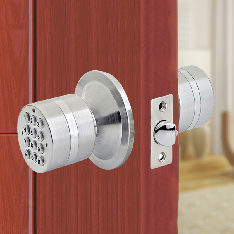 Yaoertai security smart door lock YET500 key lock