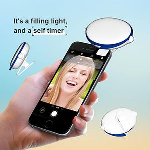 SuperStar Bluetooth wireless smart selfie fill light /Take pictures anytime.