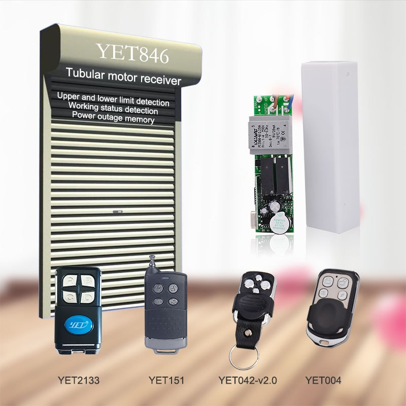Built-in tubular motor wireless controller application,