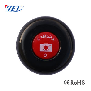 Mini round single-button wireless remote controller YET194