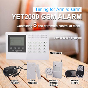 The features and applications of the anti-theft alarm controller.