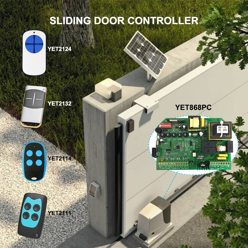 sliding door wireless controller motor controller.