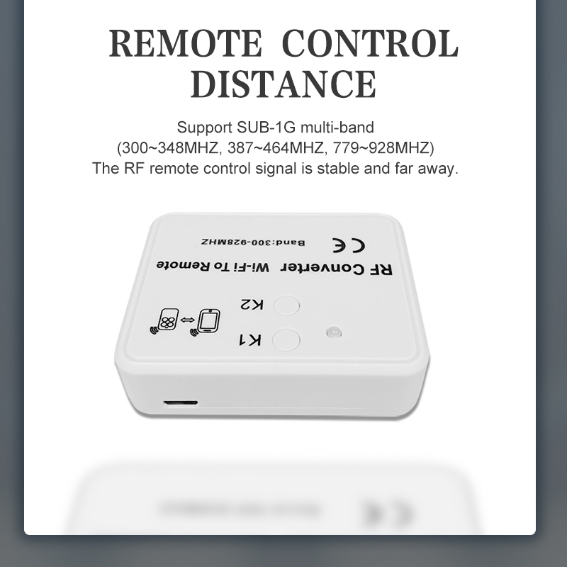 WIFI to remote RF converter.