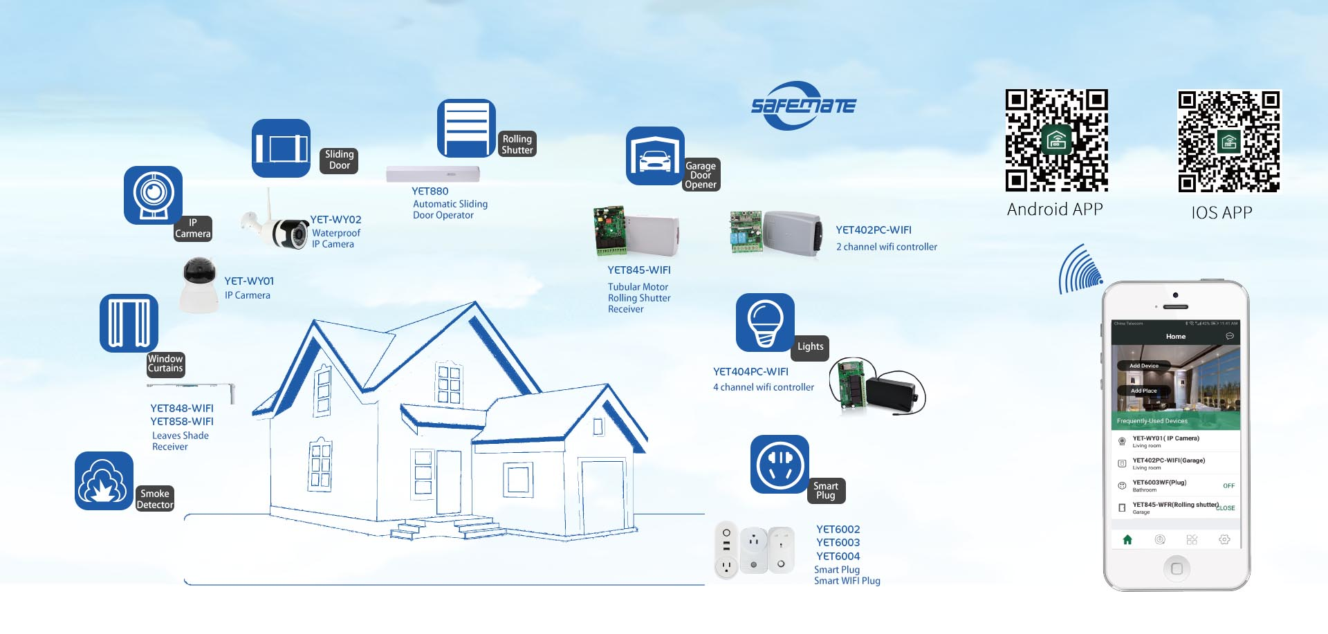 Six Smart Systems of Yaoertai Smart Home, 8 Advantages