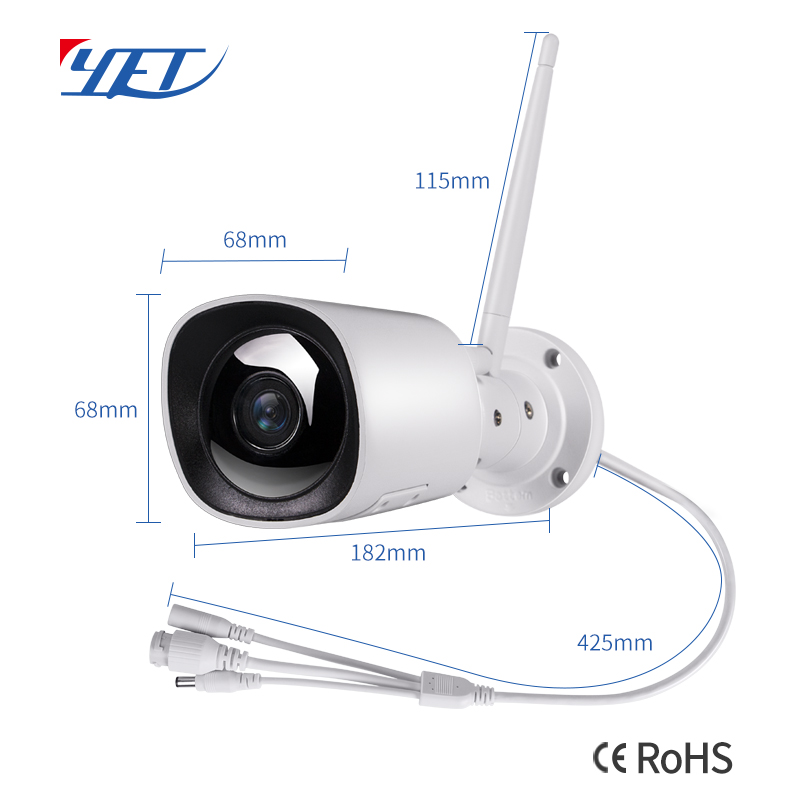Smart Waterproof IP Camera