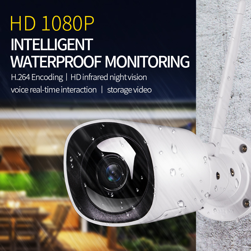Smart Waterproof IP Camera.