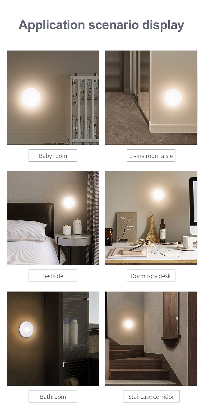 smart sensor led night light
