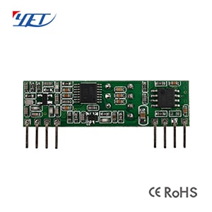 ASK Superheterodyne Wireless Receiver Module YET206