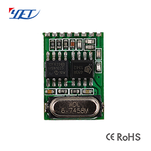 YET215 Superheterodyne Wireless Module with Decoding Function