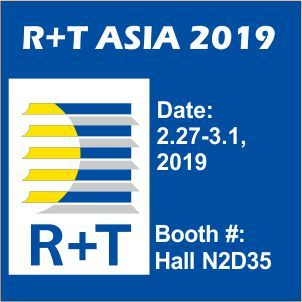 R+T Asia Shanghai Door and Window Sunshade Exhibition, the opening of the 2019 is coming soon