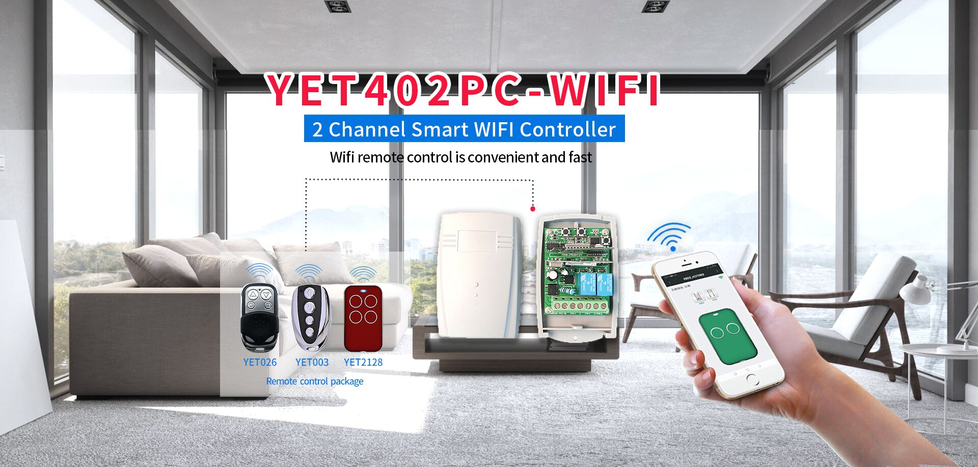 Universal smart WIFI controller