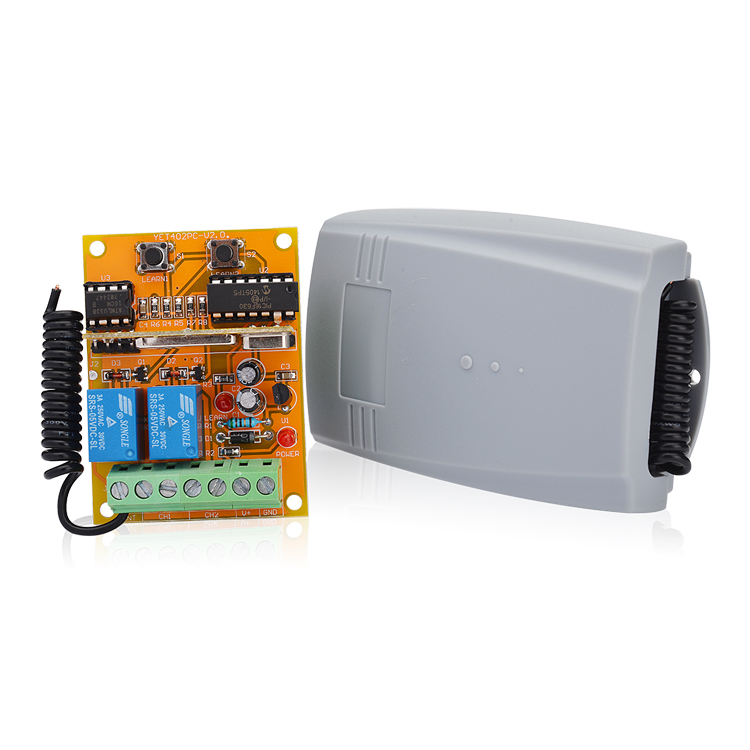 Hot selling two channel receiver:YET402PC-V2.0